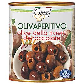 Ginos, Olivaperitivo Riviera denocciolate in salamoia