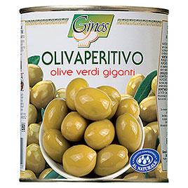 Ginos, Olivaperitivo Verdi giganti in salamoia