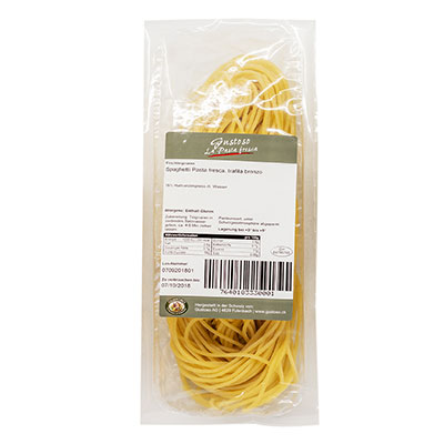 Pasta Giannini, Spaghetti Pasta fresca, trafila bronzo