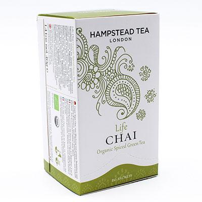 Hampstead Tea, Green Tea Chai (Life)  BIO