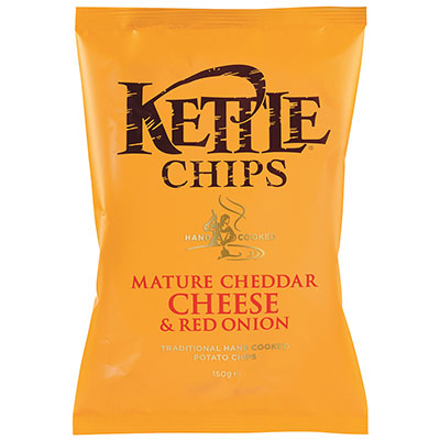 Kettle, Mature Cheddar & Red Onion