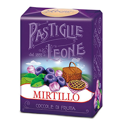 Pastiglie Leone, Pastiglie Mirtillo