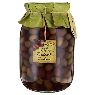 Ranise, Olive Taggiasche, salamoia