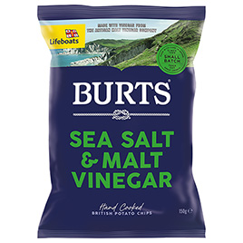 Burts, Sea Salt & Malt Vinegar