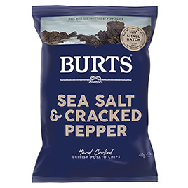 Burts, Sea Salt & Crushed Peppercorns