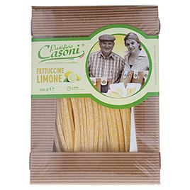 Casoni, Fettuccine all'uovo Limone