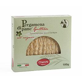 Cherchi, Pergamena di Pane Guttiau Origano 100 g