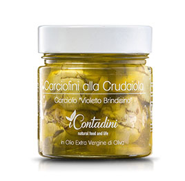 I Contadini, Carciofini  alla crudaiola in olio EVO