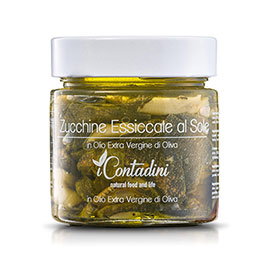 I Contadini, Zucchine essiccate  al sole In olio EVO
