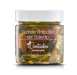 I Contadini, Antipasto grande del Salento in olio EVO