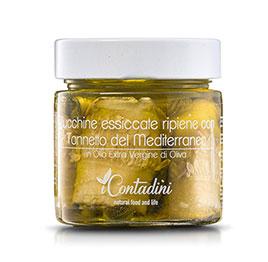 I Contadini, Zucchine secche ripiene con Tonno in olio EVO