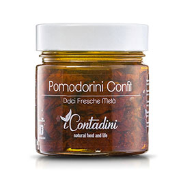 I Contadini, Pomodorini confit in olio EVO