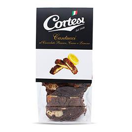 Cortesi, Cantucci Cioccolato Bianco e Cacao