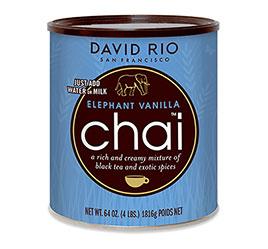 David Rio, Elephant Vanilla Foodservice 52 Portions
