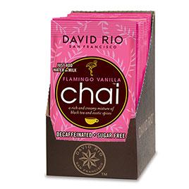 David Rio, Flamingo Vanilla sugarfree and decaf - Bags 1-2 Portions