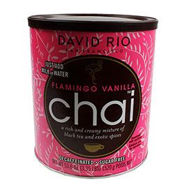 David Rio, Flamingo Vanilla sugarfree and decaf Foodservice 52 Portions