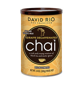 David Rio, Tiger Spice  Chai Decaf Retail 12 Portions