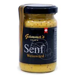 Gamma's,Senf Weisswurst
