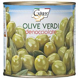 Ginos, Olive Verdi denocciolate in salamoia