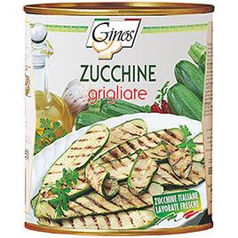 Ginos, Zucchine grigliate italiane  dal fresco in olio girasole