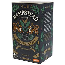 Hampstead Tea, Black Tea Darjeeling DEM BIO