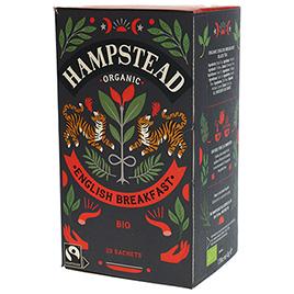 Hampstead Tea, Black Tea English Breakfast BIO