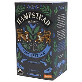 Hampstead Tea, Black Tea Divine Earl Grey DEM BIO