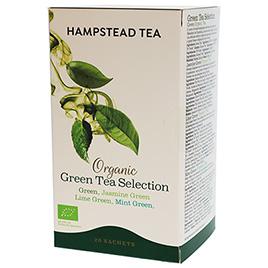 Hampstead Tea, Green Tea Selection BIO
