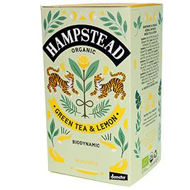 Hampstead Tea, Green Tea Cool Lime DEM BIO