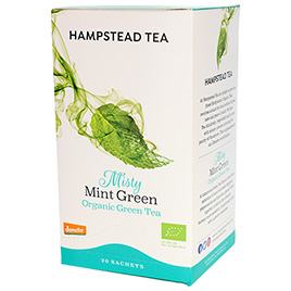 Hampstead Tea, Green Tea Misty Mint DEM BIO