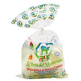 La Perla del Mediterraneo, Mozzarella di Bufala DOP Bocconcini (5x50 g)