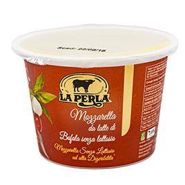 La Perla del Mediterraneo, Mozzarella di Bufala Campana senza lattosio  DOP