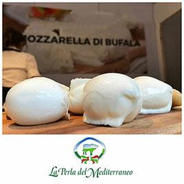 La Perla del Mediterraneo, Mozzarella di Bufala Campana senza lattosio  DOP (10 x 200g)