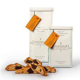 Leonardo, Cantucci con Cioccolato e Arance