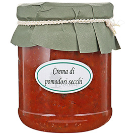 Olmo, Crema di Pomodori secchi