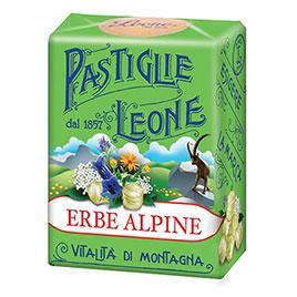 Pastiglie Leone, Pastiglie Erbe Alpine