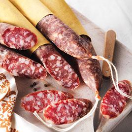 Salame Strolghino di carne Culatello  ca.0.22 kg - 0.25 kg