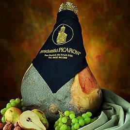 Picaron, Prosciutto crudo San Daniele DOP 18 mesi, addobbo   ca. 6.500kg - 7.500kg