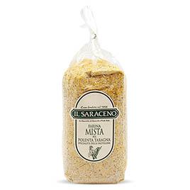 Sala Cereali, Farina Mista(mais/saraceno), per polenta taragna